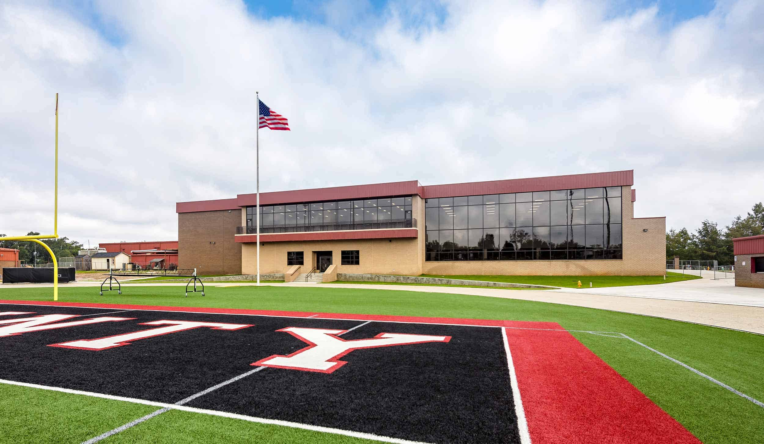 0ff92efd32 Lee County High School, Multi-Purpose Facility - JCI General Contractors